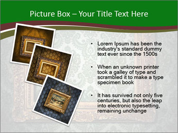 Frames on the wall PowerPoint Template - Slide 17