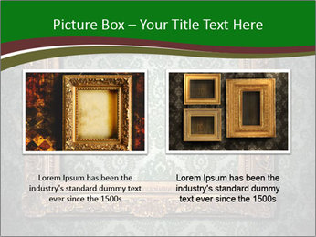 Frames on the wall PowerPoint Template - Slide 18