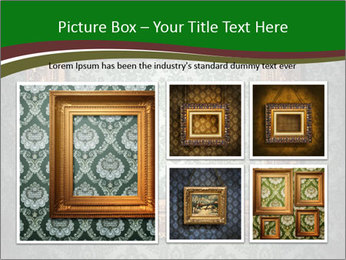 Frames on the wall PowerPoint Template - Slide 19