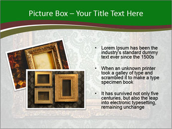 Frames on the wall PowerPoint Template - Slide 20
