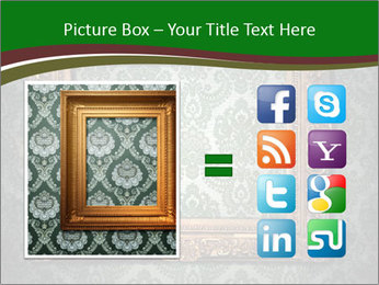 Frames on the wall PowerPoint Template - Slide 21