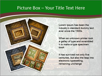 Frames on the wall PowerPoint Template - Slide 23
