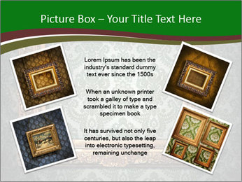 Frames on the wall PowerPoint Template - Slide 24