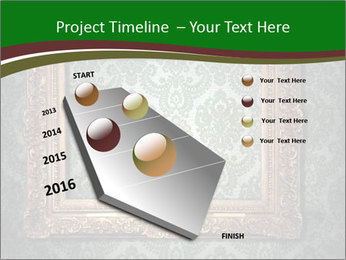 Frames on the wall PowerPoint Template - Slide 26