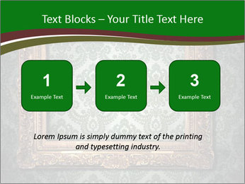 Frames on the wall PowerPoint Template - Slide 71