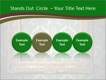 Frames on the wall PowerPoint Template - Slide 76