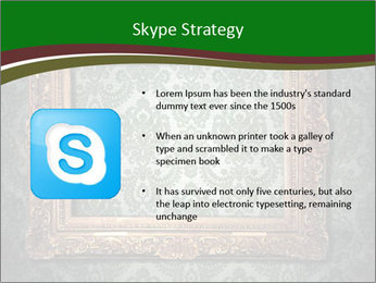 Frames on the wall PowerPoint Template - Slide 8