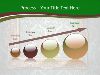 Frames on the wall PowerPoint Template - Slide 87