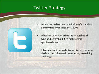 Frames on the wall PowerPoint Template - Slide 9