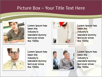 Man covered PowerPoint Templates - Slide 14