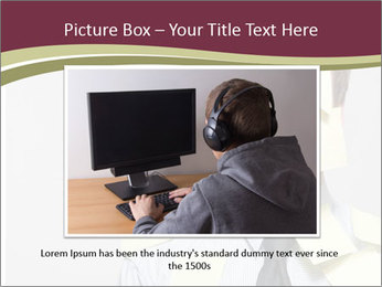Man covered PowerPoint Templates - Slide 16