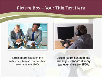 Man covered PowerPoint Templates - Slide 18