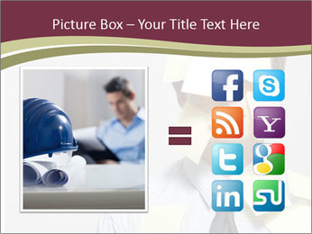 Man covered PowerPoint Templates - Slide 21