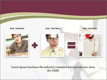 Man covered PowerPoint Templates - Slide 22