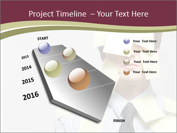 Man covered PowerPoint Templates - Slide 26