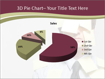 Man covered PowerPoint Templates - Slide 35