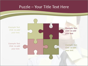 Man covered PowerPoint Templates - Slide 43