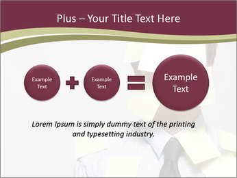 Man covered PowerPoint Templates - Slide 75