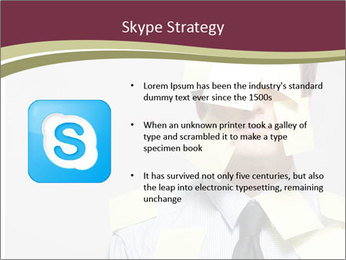 Man covered PowerPoint Templates - Slide 8
