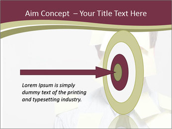 Man covered PowerPoint Templates - Slide 83