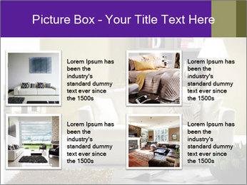 Modern living room PowerPoint Templates - Slide 14