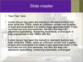 Modern living room PowerPoint Templates - Slide 2