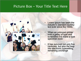 Multi-racial college students PowerPoint Templates - Slide 20