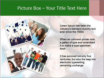Multi-racial college students PowerPoint Templates - Slide 23