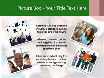 Multi-racial college students PowerPoint Templates - Slide 24