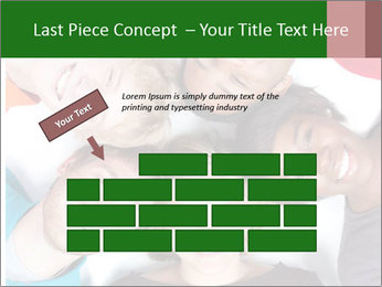 Multi-racial college students PowerPoint Templates - Slide 46