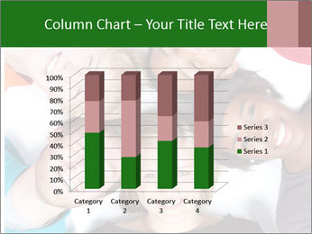 Multi-racial college students PowerPoint Templates - Slide 50