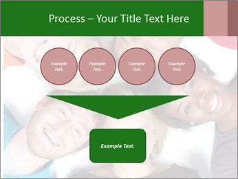 Multi-racial college students PowerPoint Templates - Slide 93