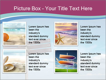 Blank signpost in sky PowerPoint Templates - Slide 14