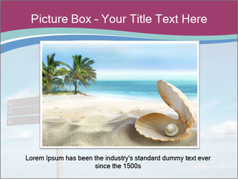 Blank signpost in sky PowerPoint Templates - Slide 15