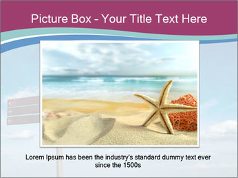 Blank signpost in sky PowerPoint Templates - Slide 16