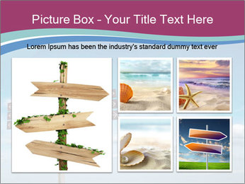 Blank signpost in sky PowerPoint Templates - Slide 19