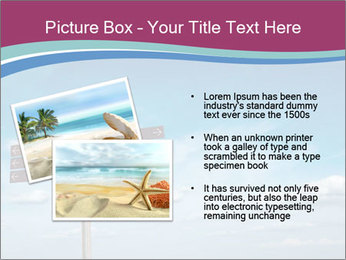 Blank signpost in sky PowerPoint Templates - Slide 20
