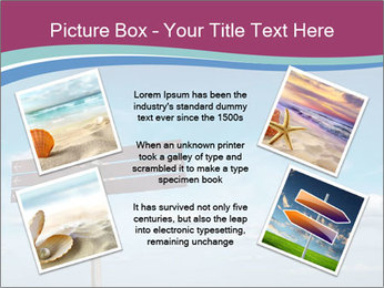 Blank signpost in sky PowerPoint Templates - Slide 24