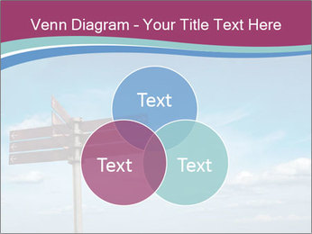 Blank signpost in sky PowerPoint Templates - Slide 33