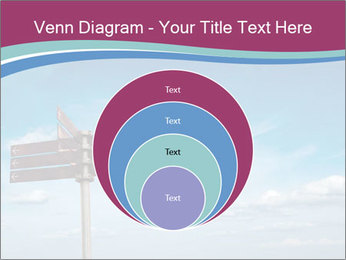 Blank signpost in sky PowerPoint Templates - Slide 34