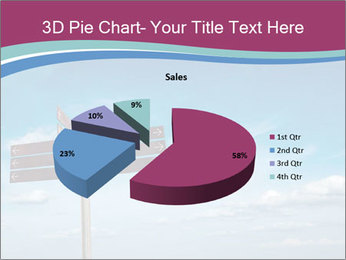 Blank signpost in sky PowerPoint Templates - Slide 35