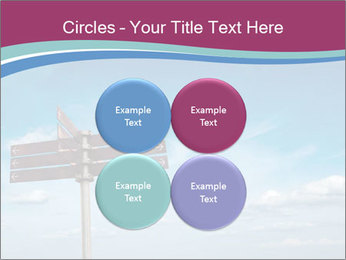 Blank signpost in sky PowerPoint Templates - Slide 38