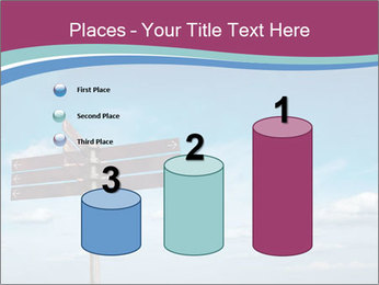 Blank signpost in sky PowerPoint Templates - Slide 65