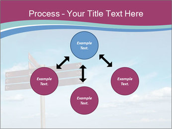 Blank signpost in sky PowerPoint Templates - Slide 91
