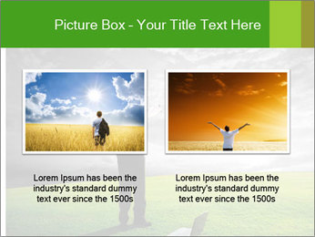 Happy young businessman PowerPoint Template - Slide 18