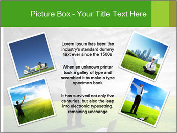 Happy young businessman PowerPoint Template - Slide 24