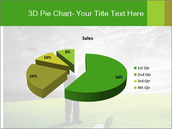 Happy young businessman PowerPoint Template - Slide 35