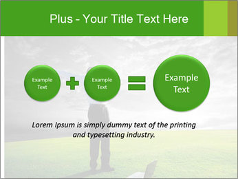 Happy young businessman PowerPoint Template - Slide 75