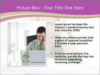 Caucasian middle PowerPoint Template - Slide 13