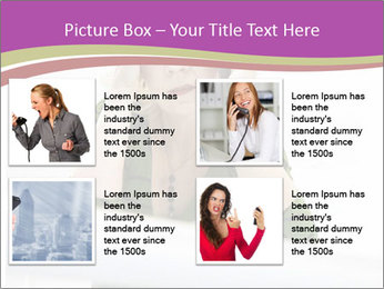 Caucasian middle PowerPoint Template - Slide 14